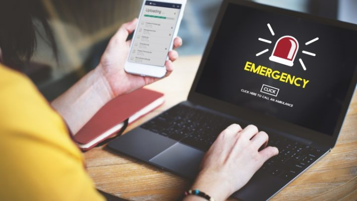 Emergency Service Ambulance Hospital Care Concept