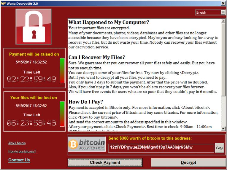 cryptolocker ransomware pagamento